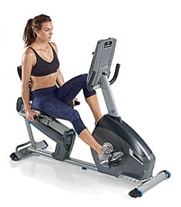Nautilus-R614-Recumbent-Bike-Reviews-Female